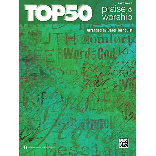 Alfred Top 50 Praise & Worship Easy Piano Book-thumbnail