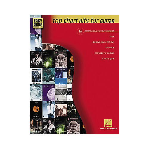 Hal Leonard Top Chart Hits for Easy Guitar Book-thumbnail