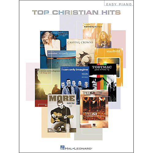 Hal Leonard Top Christian Hits For Easy Piano