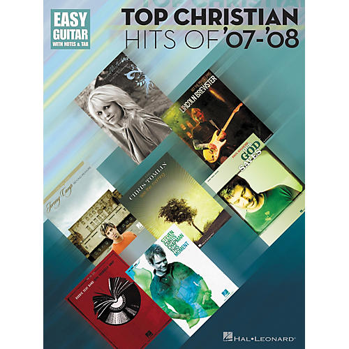 Hal Leonard Top Christian Hits Of '07-'08 Tab Songbook - Easy Guitar Series