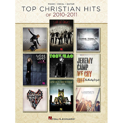 Hal Leonard Top Christian Hits Of 2010-2011 PVG Songbook