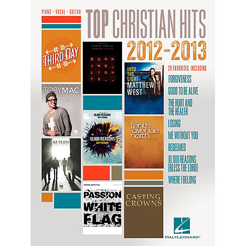 Hal Leonard Top Christian Hits of 2012-2013 for Piano/Vocal/Guitar PVG-thumbnail
