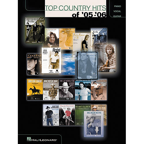 Hal Leonard Top Country Hits of '05-'06 Piano, Vocal, Guitar Songbook