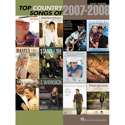 Hal Leonard Top Country Songs Of 2007 - 2008-thumbnail