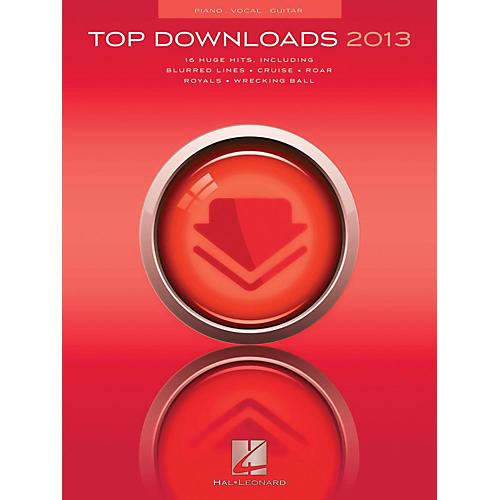 Hal Leonard Top Downloads Of 2013 for Piano/Vocal/Guitar-thumbnail