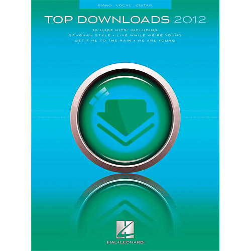 Hal Leonard Top Downloads of 2012 for PVG (Piano/Vocal/Guitar)-thumbnail