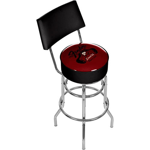 Fender Top Hat 30 Quot Bar Stool With Back Guitar Center