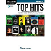 Hal Leonard Top Hits For Horn - Instrumental Play-Along Book/Online Audio