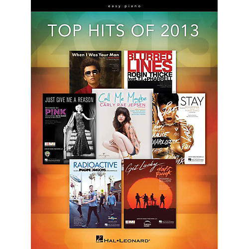 Hal Leonard Top Hits Of 2013 for Easy Piano-thumbnail