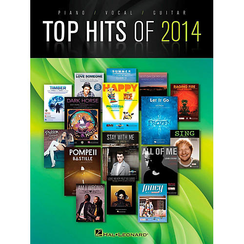 Hal Leonard Top Hits Of 2014 Piano/Vocal/Guitar