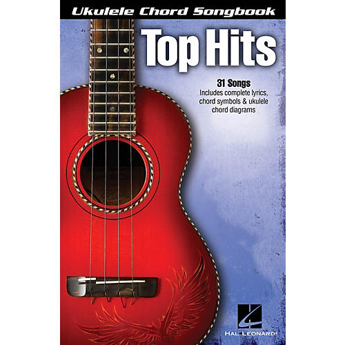 Hal Leonard Top Hits  Ukulele Chord Songbook-thumbnail