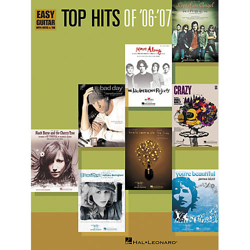 Hal Leonard Top Hits of '06-'07: Easy Guitar With Notes and Tab Songbook-thumbnail