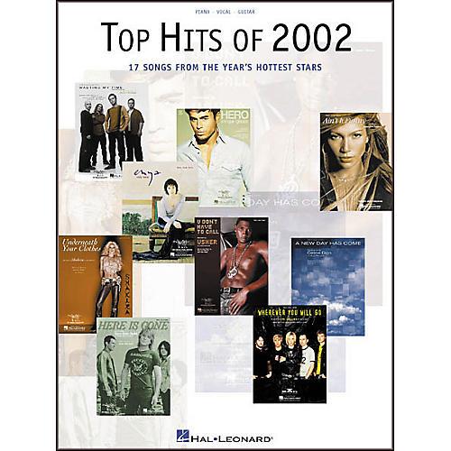 Hal Leonard Top Hits of 2002 Piano, Vocal, Guitar Songbook