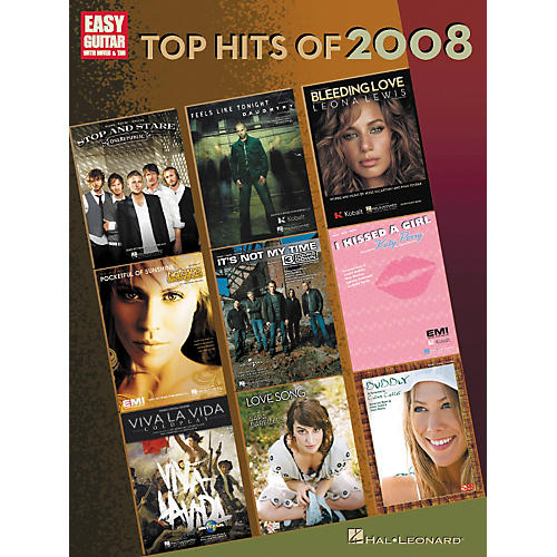 Hal Leonard Top Hits of 2008 for Easy Guitar w/Tab-thumbnail