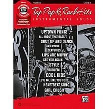 Alfred Top Pop & Rock Hits Instrumental Solos Trombone Book & CD
