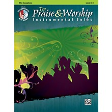 Alfred Top Praise & Worship Instrumental Solos - Alto Sax, Level 2-3 (Book/CD)