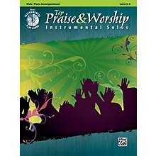 Alfred Top Praise & Worship Instrumental Solos - Viola, Level 2-3 (Book/CD)