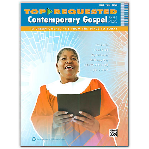 Alfred Top-Requested Contemporary Gospel Sheet Music - P/V/C Book