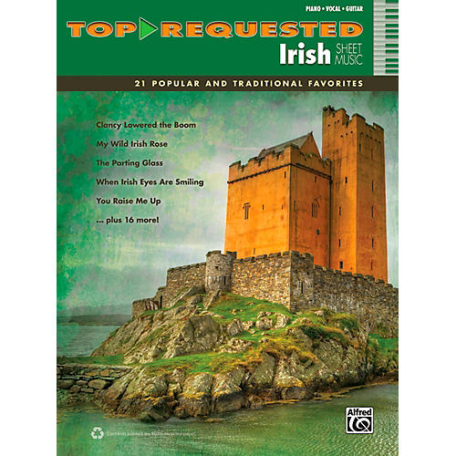 Alfred Top-Requested Irish Sheet Music - P/V/C Book-thumbnail