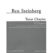 Transcontinental Music Torat Chayim (A Cantata) composed by Ben Steinberg