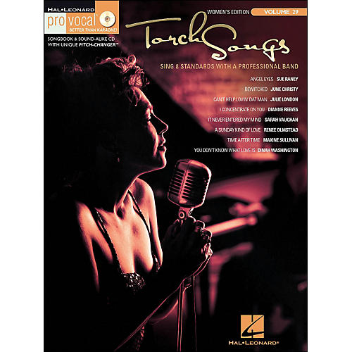 Hal Leonard Torch Songs Volume 29 Book/CD Women's Edition Pro Vocal Series-thumbnail