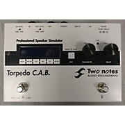 Two Notes Audio Engineering Torpedo C.A.B. Speaker Simulator Multi Effects Processor