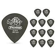Dunlop Tortex Pitch Black Jazz Guitar Picks 1 Dozen