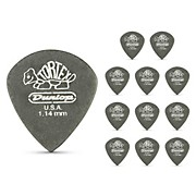 Dunlop Tortex Pitch Black Jazz Guitar Picks 1 Dozen