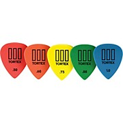Dunlop Tortex T3 Sharp Tip Guitar Picks 12-Pack