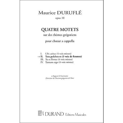 Durand Tota Pulchra Es SSA No 2 From 4 Motets Op 20