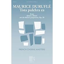 Durand Tota pulchra es (from Quatre Motets sur des themes gregoriens) SSA A Cappella Composed by Maurice Durufle