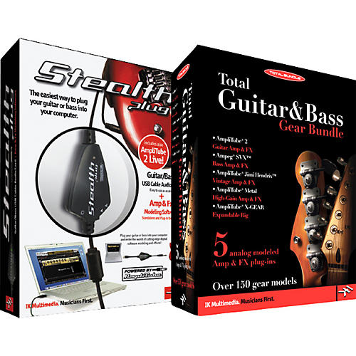 IK Multimedia Total Guitar & Bass Software Bundle