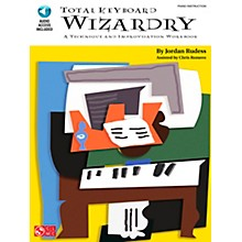 Cherry Lane Total Keyboard Wizardry - Technique & Improvisation WorkBook/Online Audio Book/Online Audio