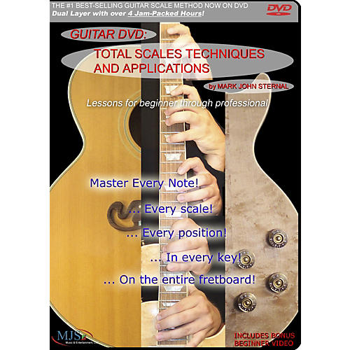 MJS Music Publications Total Scales Techniques And Applications DVD-thumbnail