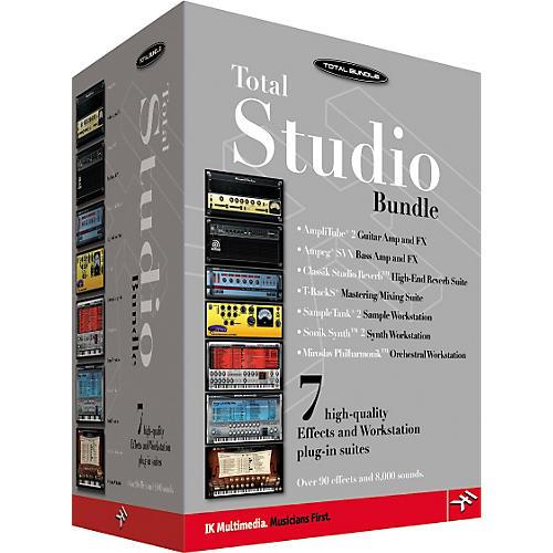 IK Multimedia Total Studio Software Bundle-thumbnail
