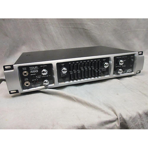 used peavey tour 450 450w bass amp head guitar center. Black Bedroom Furniture Sets. Home Design Ideas