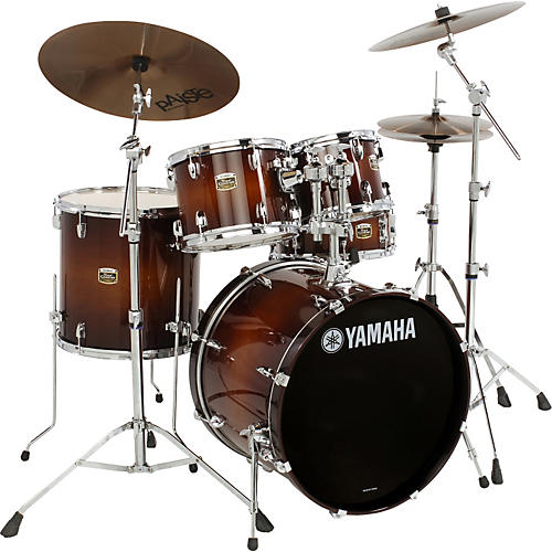 Yamaha Tour Custom 5-Piece Shell Pack with FREE 8x7 Tom-thumbnail