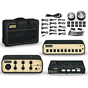 Friedman Tour Pro 1525 15 x 25 Pedalboard with 1 Riser Plus Accessory Pack, Buffer Bay and Power Grid 10