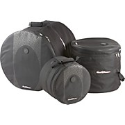 Touring 3-Piece Drum Gig Bag Set Black 10x12, 16x16 & 18x22