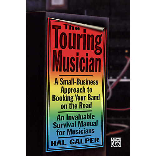 Alfred Touring Musician Booking Your Band on the Road Book-thumbnail
