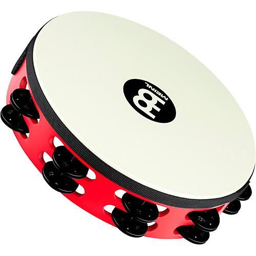 Meinl Touring Synthetic Head Wood Tambourine Two Rows-thumbnail