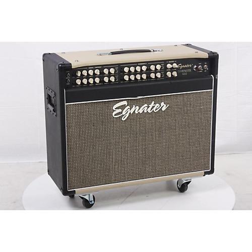 Egnater Tourmaster Series 4212 All-Tube Guitar Combo Amp Black, Beige 886830638350-thumbnail