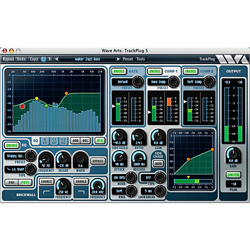Wave Arts Trackplug AAX Ultimate Channel Strip - Pro Tools Ready (Boxed version)-thumbnail