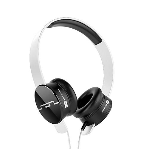 SOL REPUBLIC Tracks On-Ear Headphones with V8 Sound Engine and 3-button Remote White