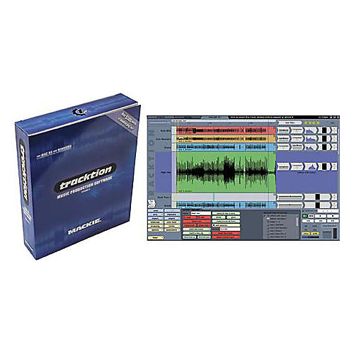 Mackie Tracktion 2 Recording/Sequencing Software with Plug-In Bundle-thumbnail