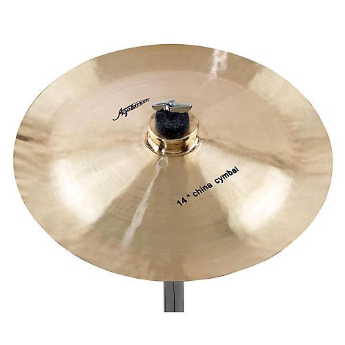 Agazarian Trad China Cymbal 14 in.
