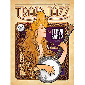 Centerstream Publishing Trad Jazz for Tenor Banjo Banjo Series Softcover wi... by Centerstream Publishing