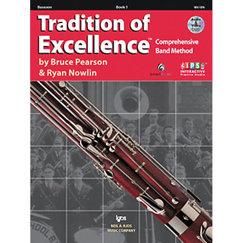 KJOS Tradition Of Excellence Book 1 for Bassoon-thumbnail