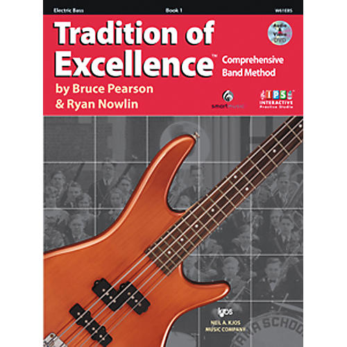 KJOS Tradition Of Excellence Book 1 for Electric Bass-thumbnail