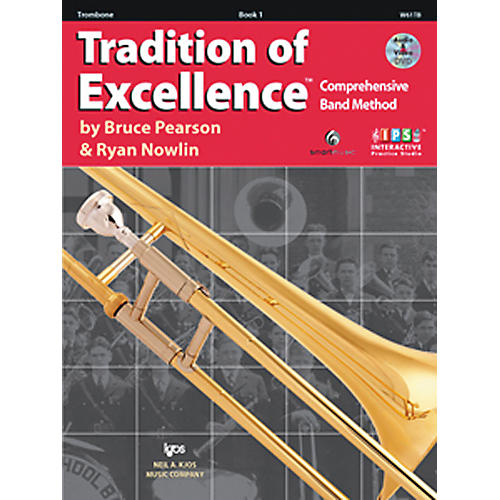 KJOS Tradition Of Excellence Book 1 for Trombone-thumbnail